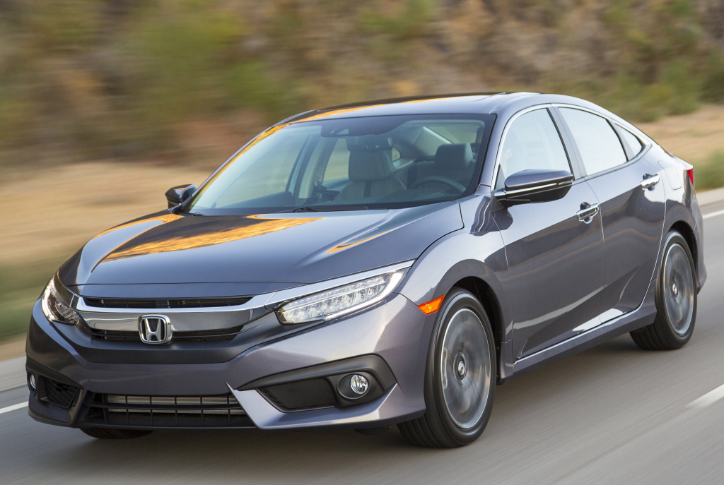 Novo honda civic chega em 2016 com motores turbo flex for 2017 honda civic si turbo