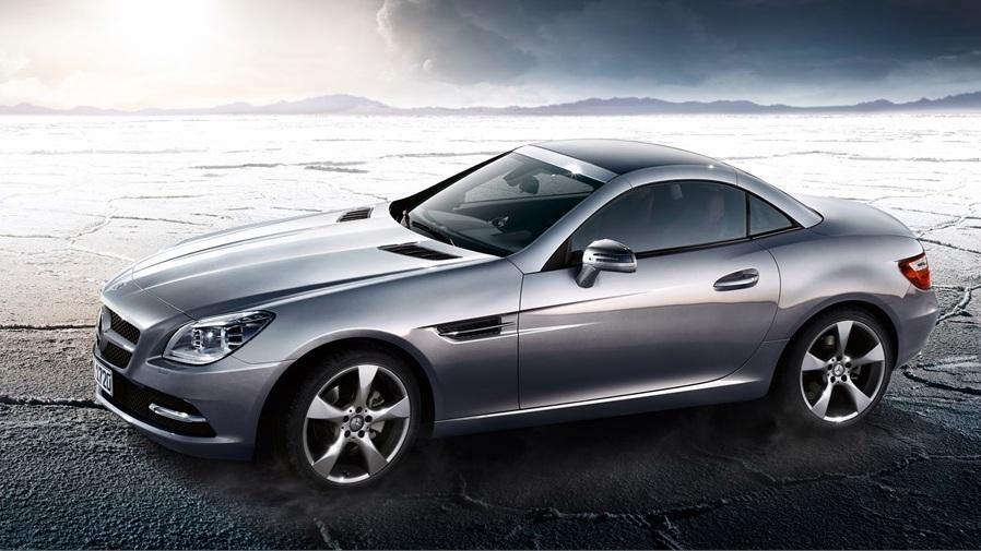 Mercedes benz slk 300 chega em novembro por r for Mercedes benz slk 300