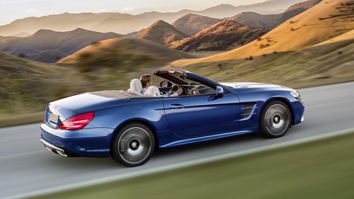 Mercedes Benz Divulga Primeiras Imagens Do Novo SL · ← Previous Picture