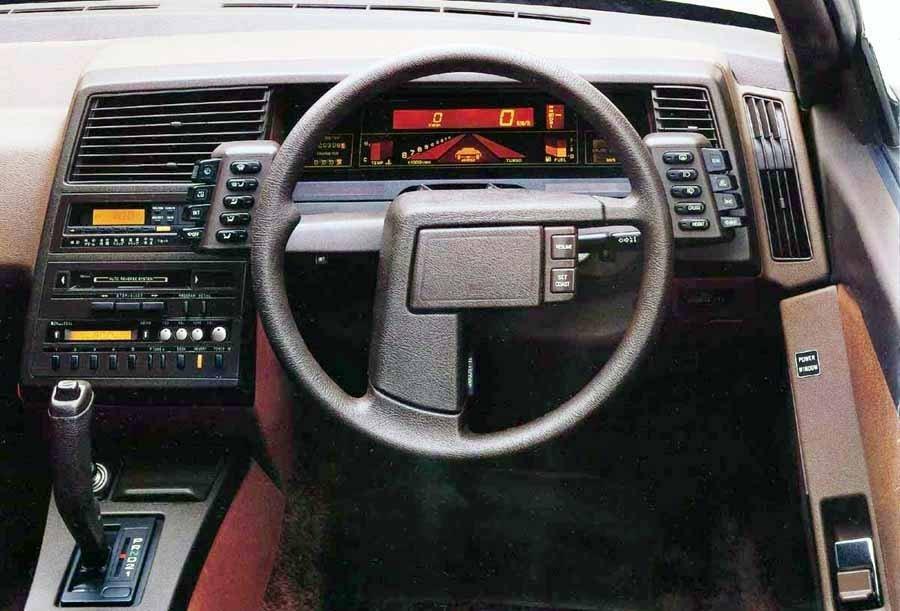 Subaru Xt Alcyone Instrument Panel Primeira Marcha