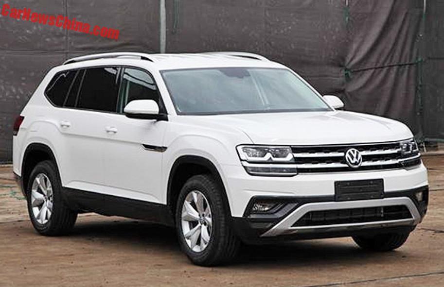 Novo SUV grande da Volkswagen se chamará Atlas nos Estados Unidos | Primeira Marcha
