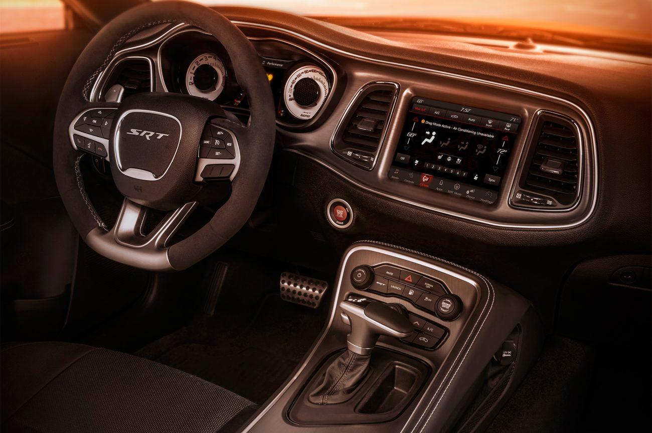 2018 Dodge Challenger Srt Demon Interior View Primeira