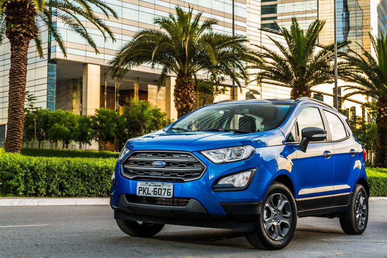 Ford EcoSport 'some' nas vendas de fevereiro; Ka segue mesmo caminho