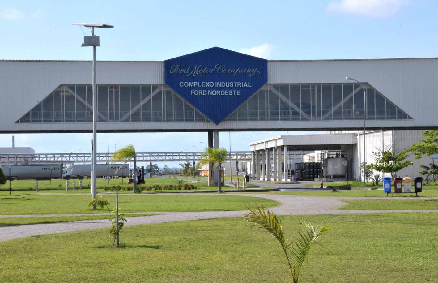 Complexo da Ford na Bahia