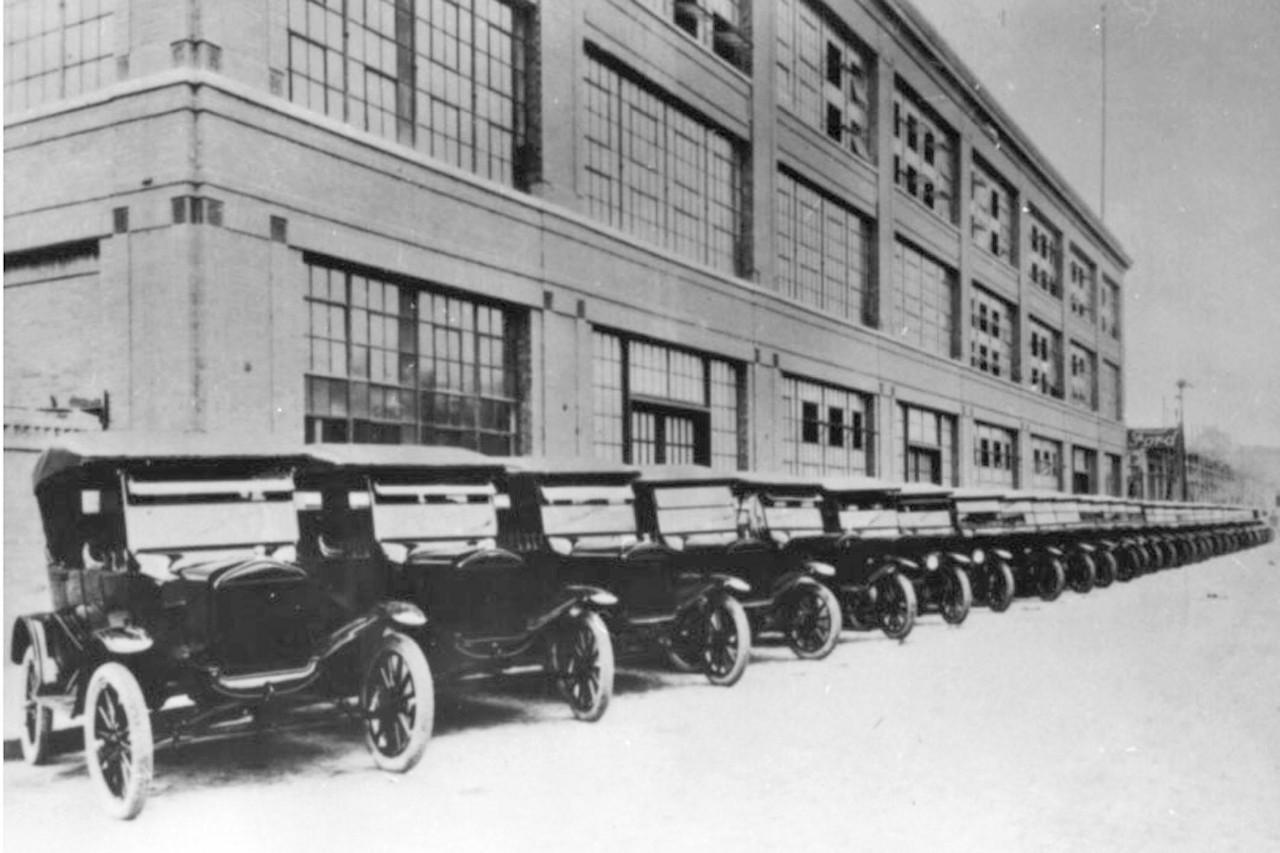 Fábrica da Ford no Bom Retiro