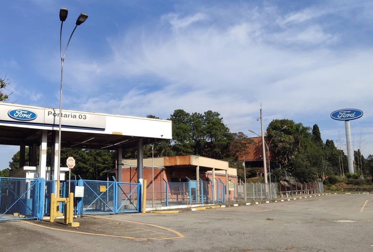 Antiga fábrica da Ford em São Bernardo do Campo