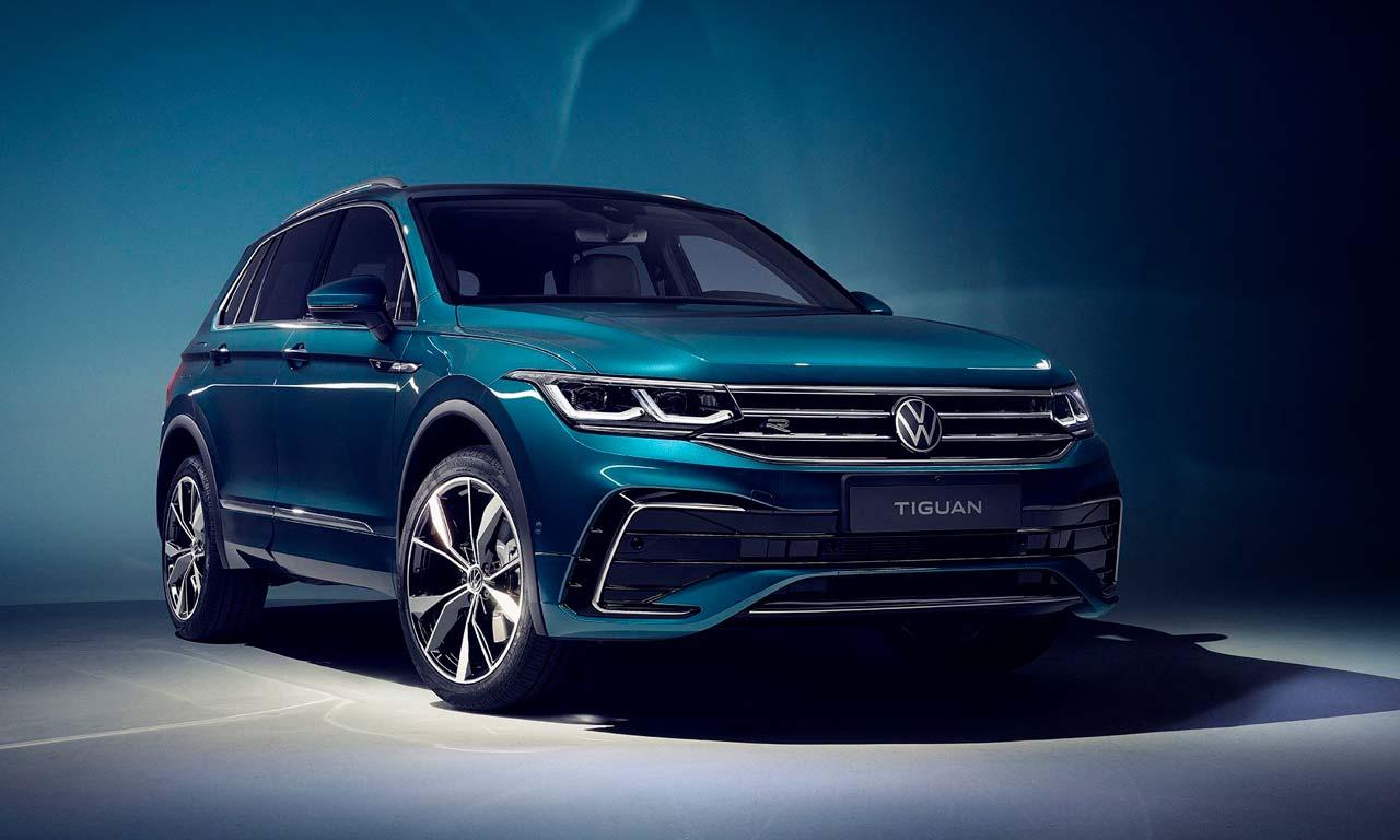Reestilizado, o VW Tiguan pode chegar ao Brasil
