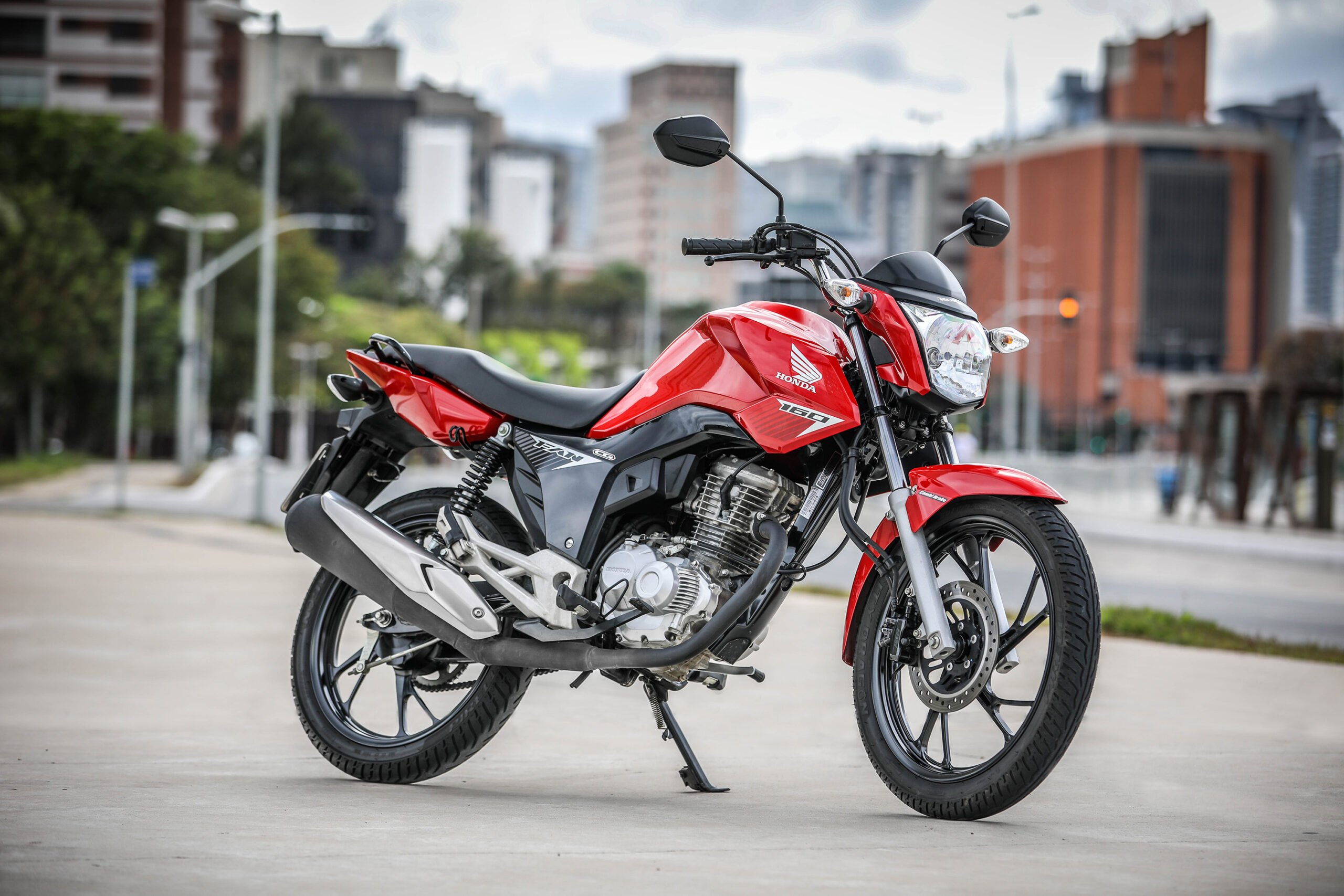 Honda CG 160 vence prêmio 'Selo Maior Valor de Revenda'