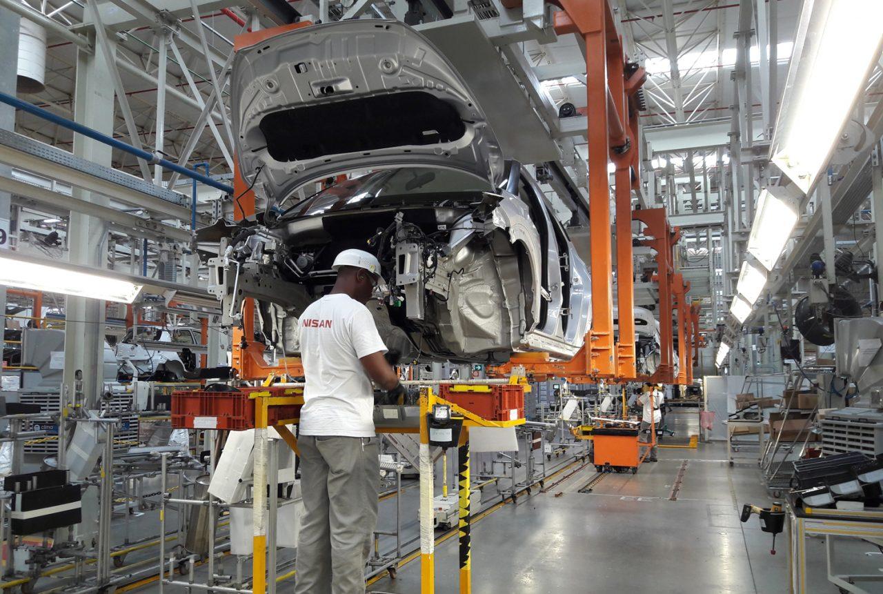 Produção de veículos em maio