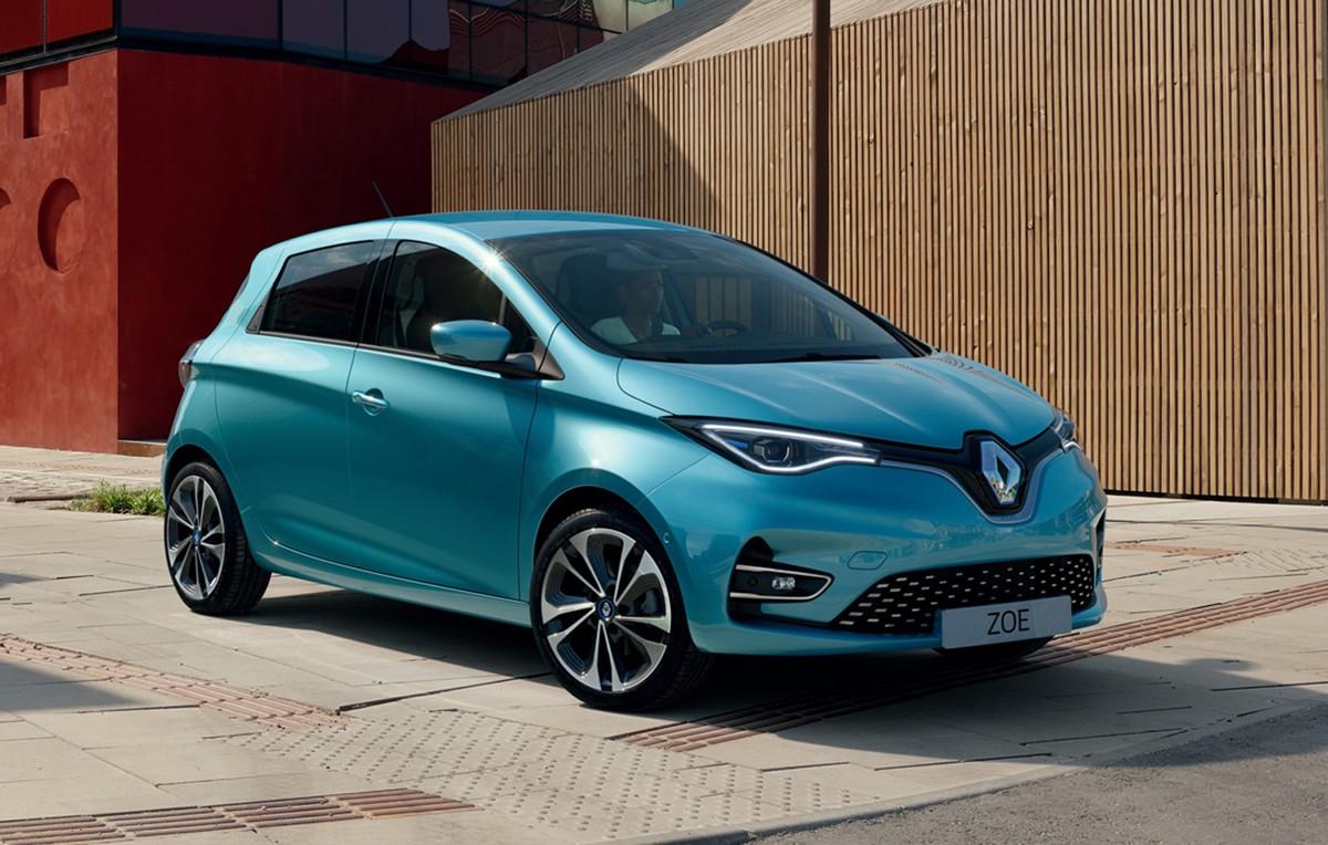 Imagem do Renault Zoe 2021