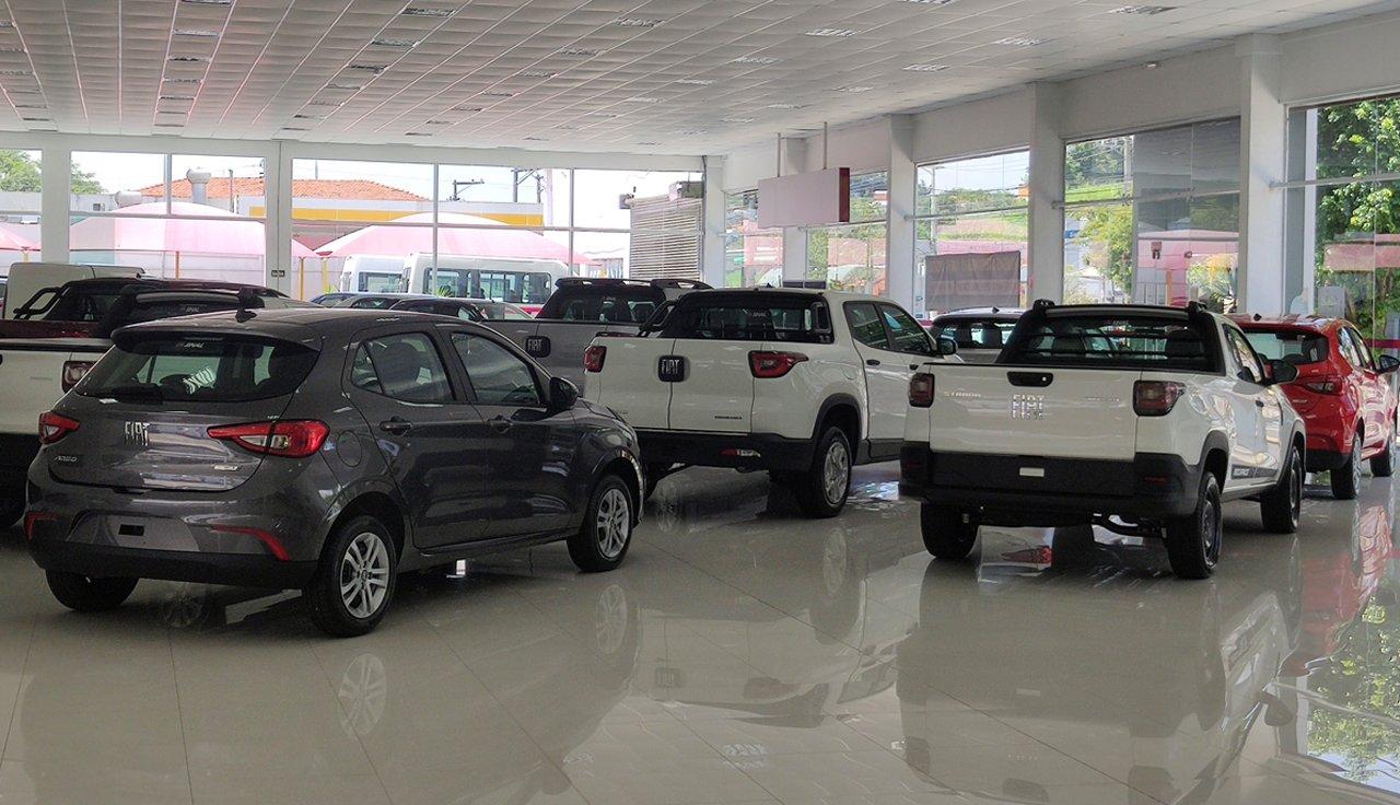 Fiat quer retomar a liderança do mercado perdida para a Chevrolet