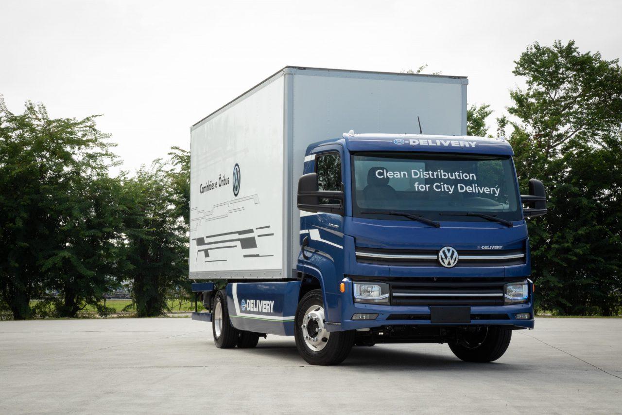 Volkswagen e-Delivery será o primeiro caminhão elétrico nacional