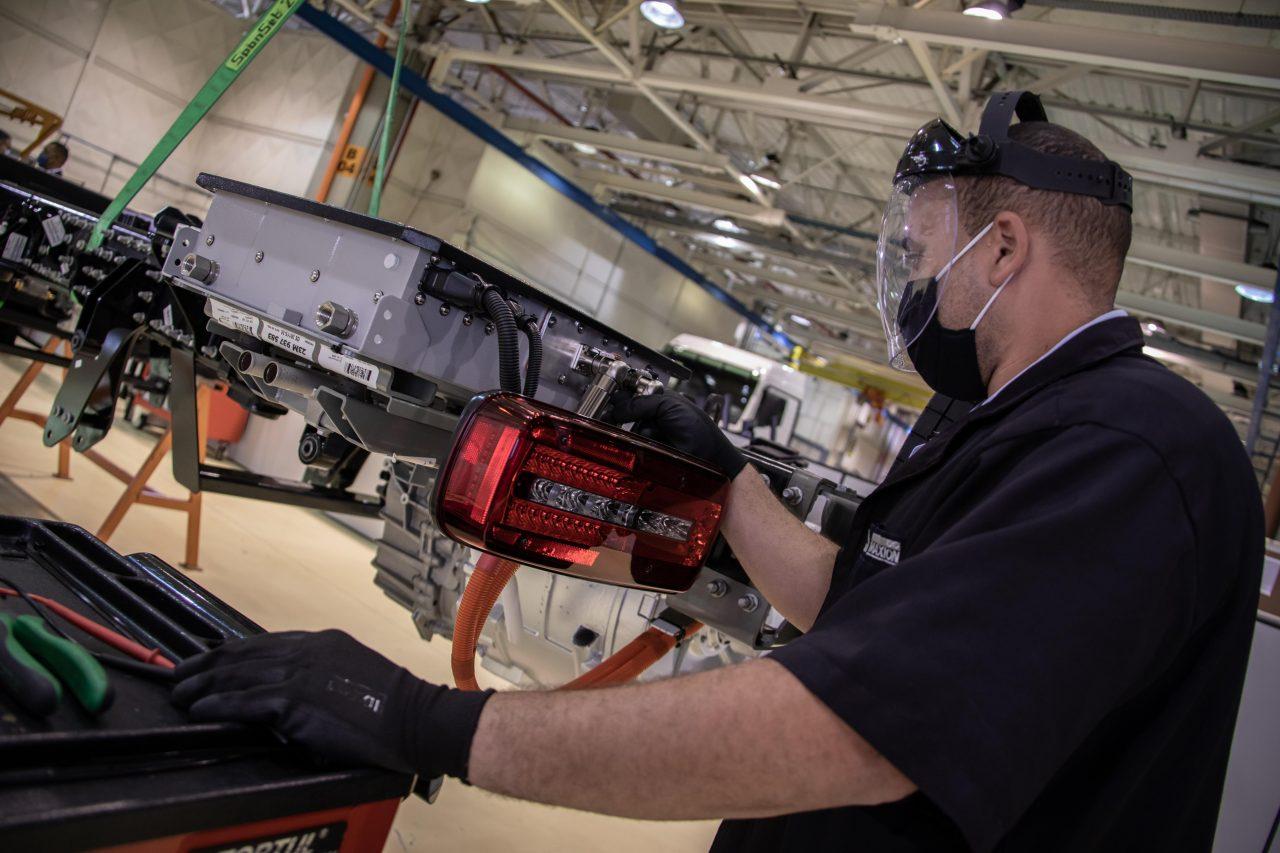 Produção do primeiro caminhão elétrico nacional pela Volkswagen