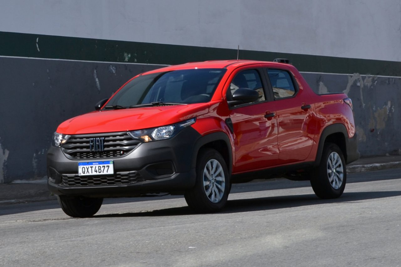 Fiat Strada foi novamente o carro mais vendido do Brasil
