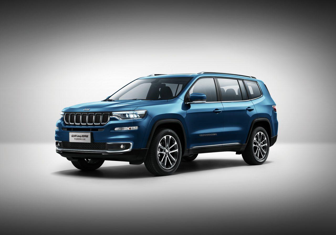 Jeep Commander já é vendido na China. versão Brasileira deve ser inspirada nela