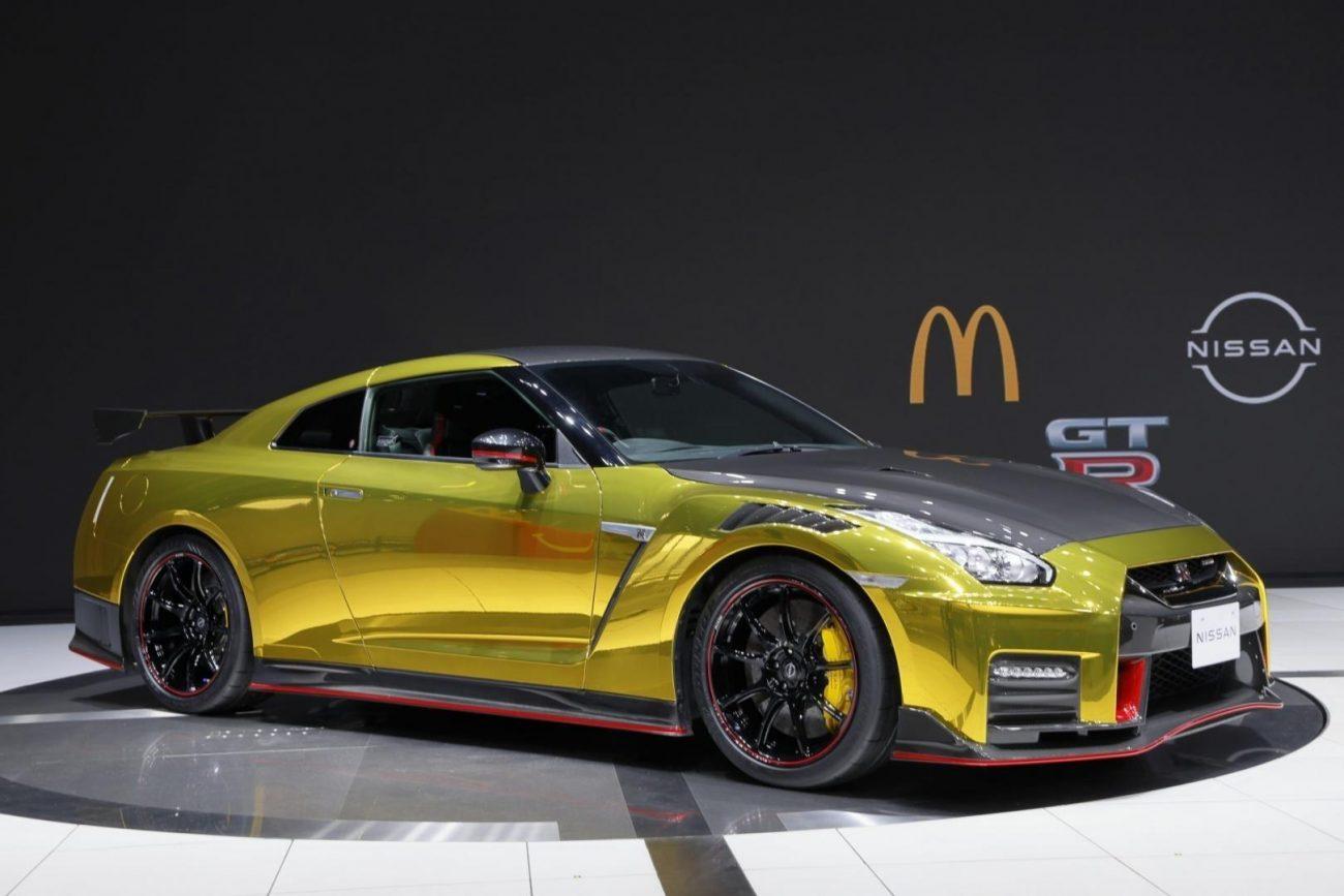 Nissan GT-R ganha 'edição McDonald's' no Japão