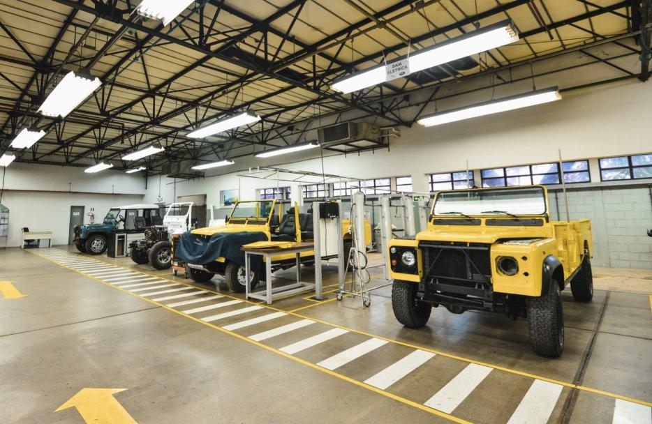 Clínica de Restauração da Jaguar Land Rover
