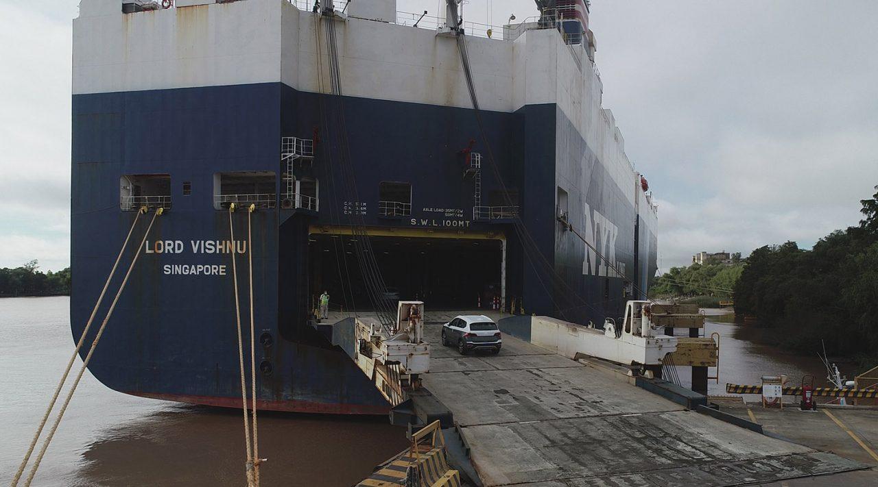 Taos já está sendo exportado para o Brasil