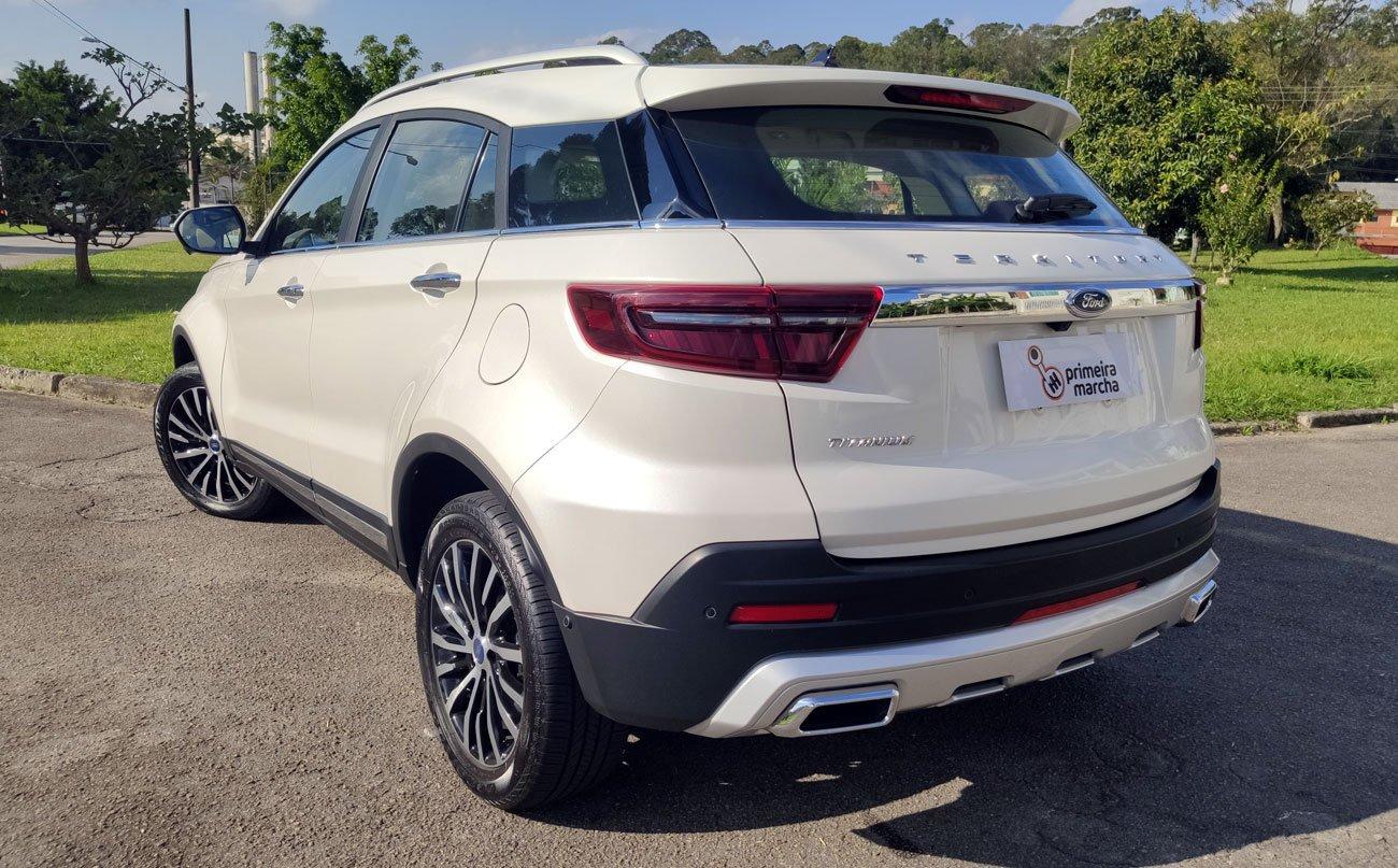Avaliação: Ford Territory é SUV 'quase grande' que concorre com modelos médios