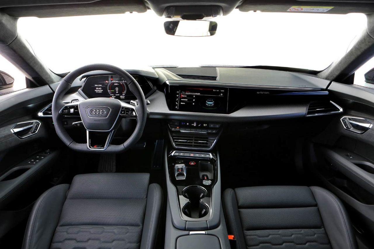 Interior do RS e-tron GT