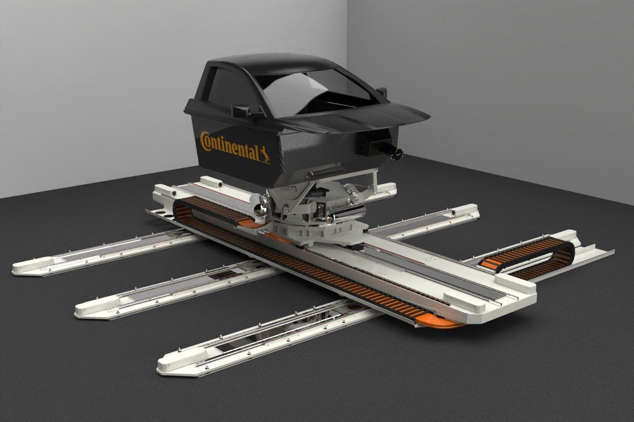 Continental cria simulador e vai deixar de produzir 10.000 pneus de teste por ano