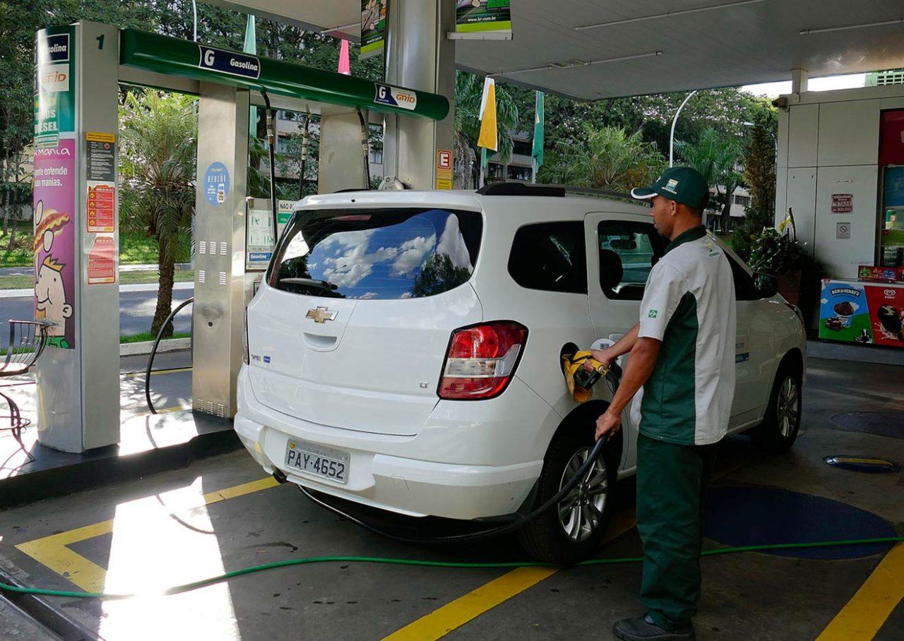 Posto de combustível em Brasília