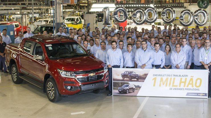 Fábrica da GM em São José dos Campos (SP)