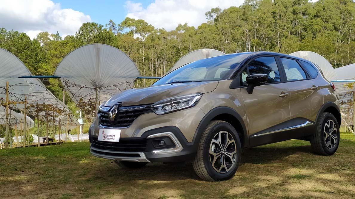 Novo Renault Captur muda visual e traz motor turbo