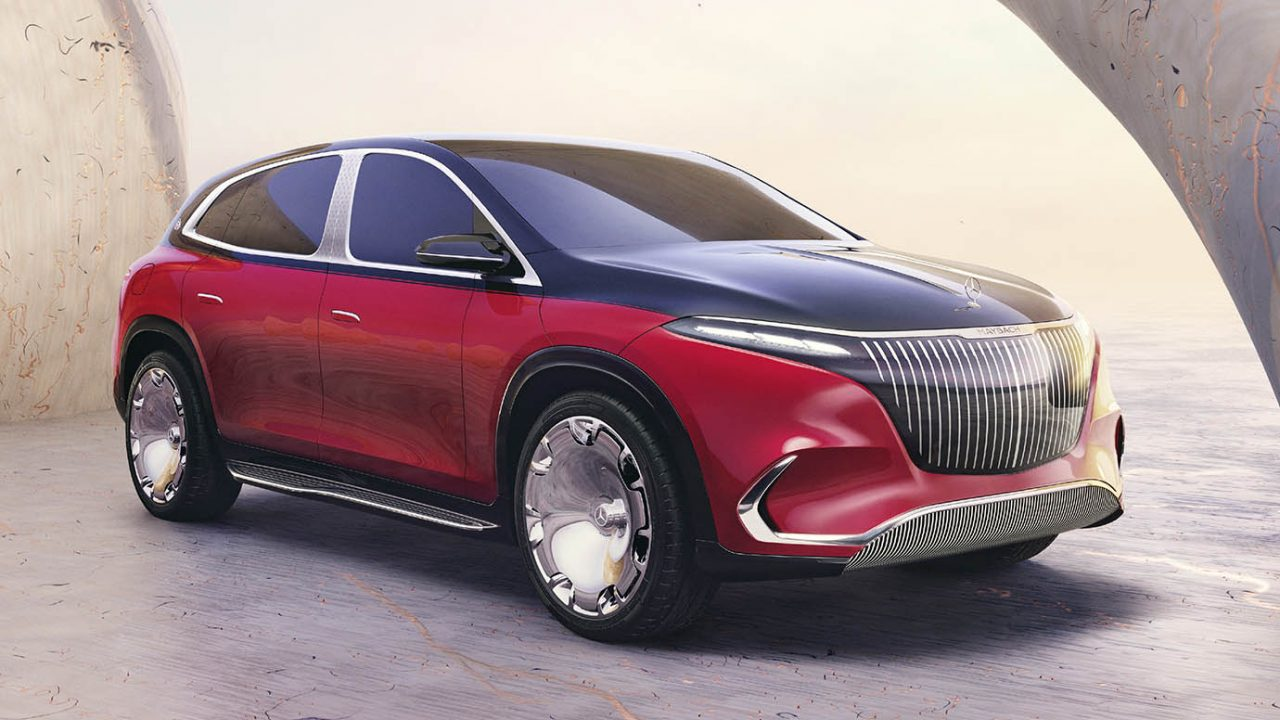 Concept Mercedes Maybach EQS, IAA Munich 2021